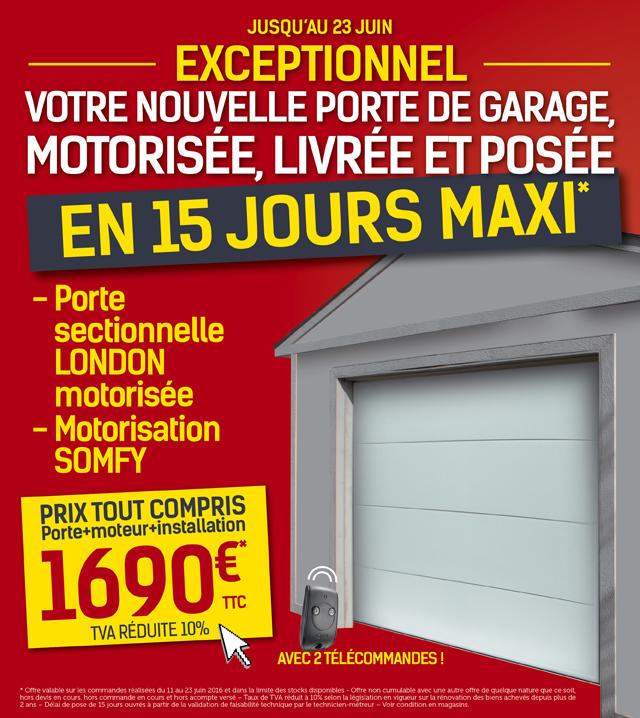 Portes d 39 entr e weigerding for Porte de garage weigerding