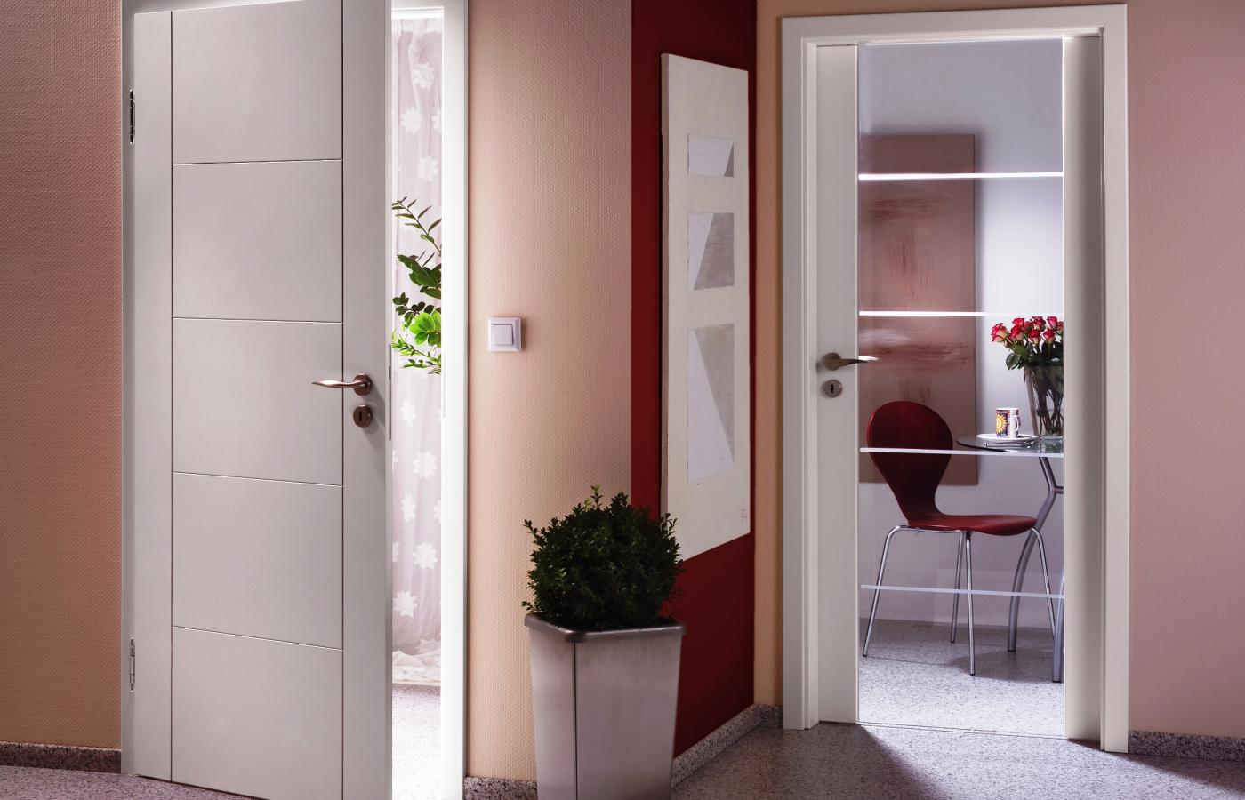 Portes d 39 int rieur weigerding for Porte blanche interieur